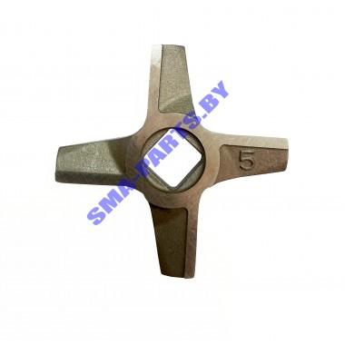 ORIGINAL Нож на шнек для мясорубки Bosch, Siemens №5 двухсторонний 10003882