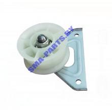 Ролик опорный с кронштейном для сушильной машины Indesit (Индезит), Ariston (Аристон) C00504520