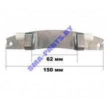 Петля (навеса, шарнир, кронштейн) загрузочного люка, дверцы для стиральной машины Bosch (Бош), Siemens (Сименс) 00615919 ORIGINAL
