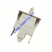 Кнопка выключения света для холодильника Indesit (Индезит), Ariston (Аристон) C00851049 2 контакта