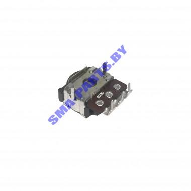 Селектор-резистор 280S0758 / UN280S электронного модуля Low-End стиральной машины Indesit серий WIU…, WIA…, WISA…