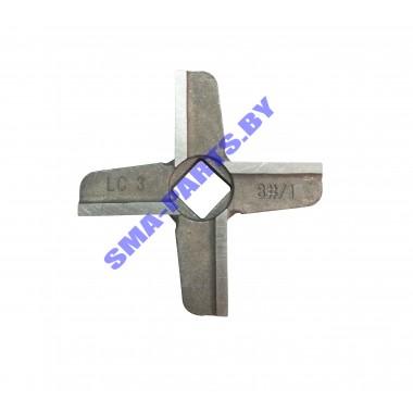 Нож на шнек для мясорубки Bosch , Siemens №8 односторонний 00629851 ORIGINAL