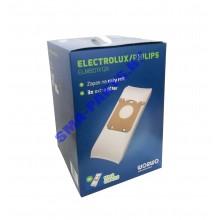 ELMB 01 X 12 K Комплект пылесборников (10 шт + 2 шт (в подарок) + 3 фильтра) для сухого пылесоса Electrolux (Электролюкс), PHILIPS (Филипс)