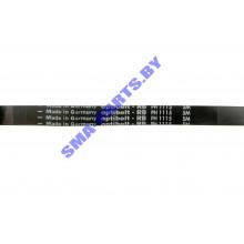 Ремень L-1115 H7 чер. привода барабана (приводной ремень) для стиральной машины BLH103UN