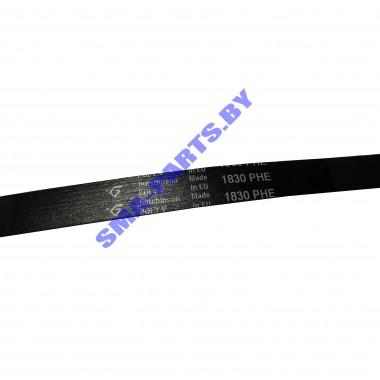 Ремень 1830 8PH привода барабана (приводной ремень) для сушильной машины Electrolux, AEG, Zanussi 1256062009