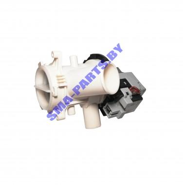 Сливной насос (откачивающий насос, помпа) для стиральной машины Bekoв сборе с улиткой2840940500
