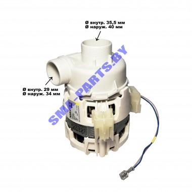 Мотор (двигатель, насос) циркуляционный для посудомоечной машины Electrolux, Zanussi, AEG 50299965009 / 1111468128