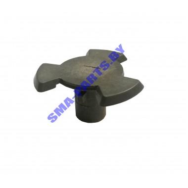 Крестик (куплер) мотора тарелки (поддона) для СВЧ (микроволновой печи) Samsung DE67-00140A