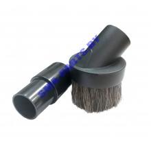 Щетка (насадка) с натуральной щетиной для пылесоса с диаметром 32 и 35 мм TN-07