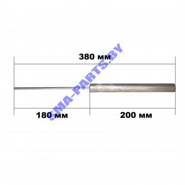 Магниевый анод для водонагревателя (бойлера) Ariston,Термекс wth307un, m6