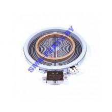 Конфорка ( блин нагрева ) стеклокерамической варочной поверхности Electrolux ( Электролюкс ), Zanussi ( Занусси ), Горенье ( Gorenje ), Вирпул ( Whirlpool )  598265