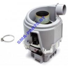 Мотор ( двигатель, насос ) циркуляционный для посудомоечной машины Bosch ( Бош ),  Siemens ( Сименс ), Neff ( Нефф ) 755078 / 00755078