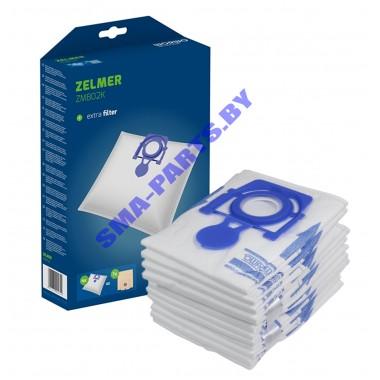 ZMB 02 K Комплект пылесборников (4 пылесборника + микрофильтр) для пылесоса Zelmer (Зелмер)