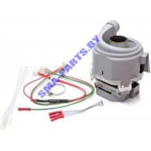 Мотор ( двигатель, насос ) циркуляционный для посудомоечной машины Bosch ( Бош ),  Siemens ( Сименс ), Neff ( Нефф ) 654575 / 00654575