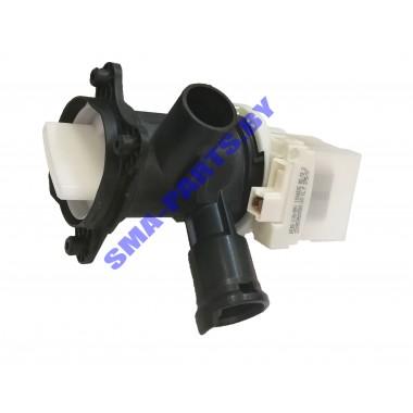 Сливной насос (откачивающий насос, помпа) для стиральной машины Bosch, Maxx, Logixx, Sensitive, Siemens (Бош, Макс, Логикс, Сенситив, Сименс) в сборе с улиткой 145726, 00145726.