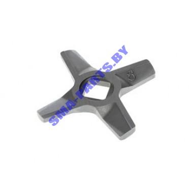 Нож на шнек для мясорубки Zelmer №8 10003883 ORIGINAL