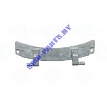 Петля ( навеса, шарнир, кронштейн ) загрузочного люка, дверцы для стиральной машина Bosch ( Бош ), Siemens ( Сименс ) WLG 00626459