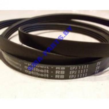 Ремень L-1111 J4 для стиральной машины Indesit, Ariston 056782
