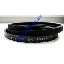 Ремень L-1120 J4 привода барабана ( приводной ремень )  для стиральной машины Лж ( LG ), Зануси ( Zanussi ), Электролюкс ( Electrolux )