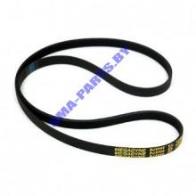 Ремень L-1079 J4 EL привода барабана ( приводной ремень )  для стиральной машины Аристон ( Ariston ) C00059157 / 482000027067